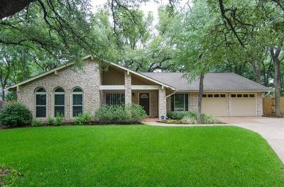 Austin Single Family Home Pending - Taking Backups: 11101 Valencia Cir