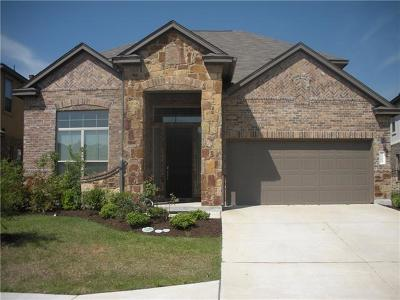 Cedar Park Single Family Home For Sale: 1400 Little Elm Trl #1109