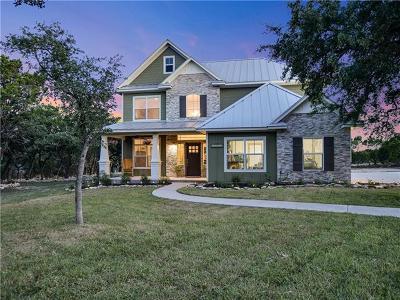 Lago Vista Single Family Home For Sale: 21501 Twain Cv