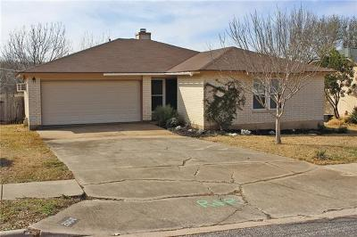 Round Rock Single Family Home Pending - Taking Backups: 2006 Oxford Blvd