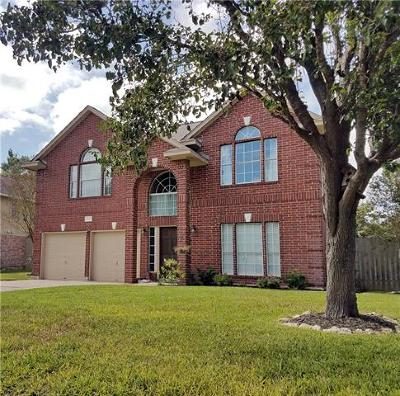 Georgetown Single Family Home For Sale: 402 Steeplechase Dr
