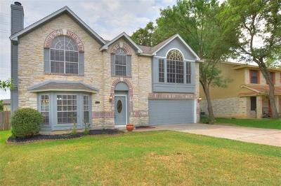 Cedar Park Single Family Home For Sale: 1702 Spiderlily Vw