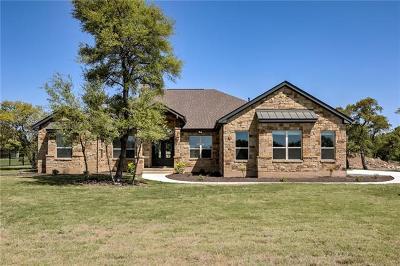 Georgetown Single Family Home Pending - Taking Backups: 101 Highland Springs Lane Dr