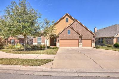 Round Rock Single Family Home Pending - Taking Backups: 4233 Pebblestone Trl