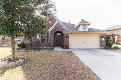 Round Rock Single Family Home For Sale: 2924 Saint Federico Way
