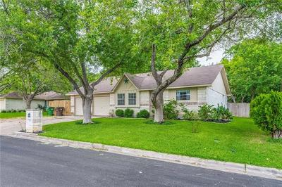 Round Rock Single Family Home Active Contingent: 1003 Ridgeline Dr