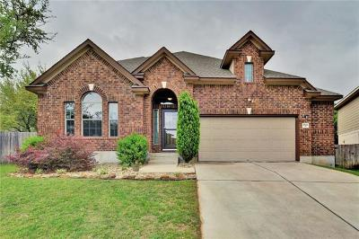 Leander Single Family Home For Sale: 1802 Montana Ct