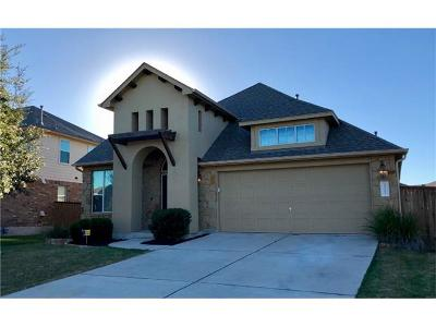 Pflugerville Single Family Home For Sale: 3317 Glastonbury Trl