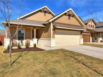 Liberty Hill Single Family Home For Sale: 175 Andele Way