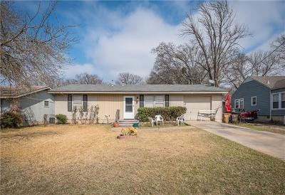 Austin Single Family Home For Sale: 302 W Applegate Dr