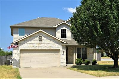 Hutto Single Family Home For Sale: 3000 Hanstrom Ct