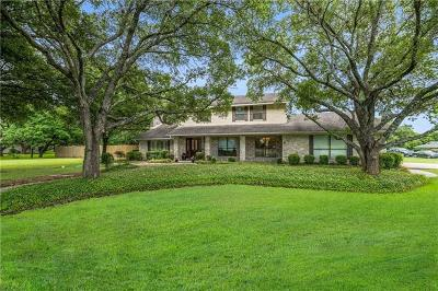 Round Rock Single Family Home For Sale: 3201 Spring Creek Rd