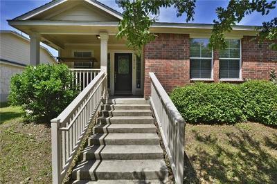 Pflugerville Single Family Home Pending - Taking Backups: 18116 Great Basin Ave