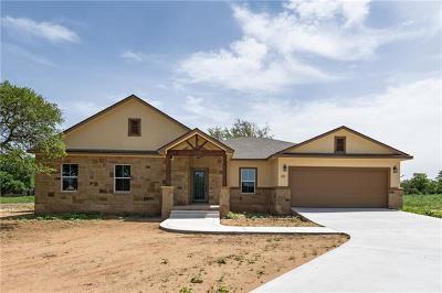 Burnet Single Family Home For Sale: 101 Secret Circle