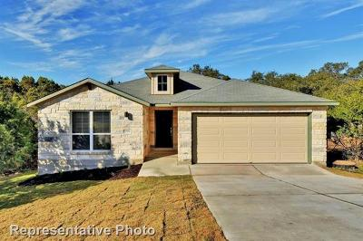 Lago Vista Single Family Home For Sale: 21704 Crystal Way