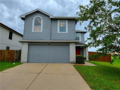 Manor Single Family Home For Sale: 16509 Trevin Cv