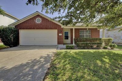 Pflugerville Single Family Home For Sale: 4012 White Water Way