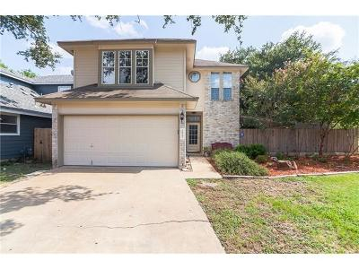 Round Rock Single Family Home Pending - Taking Backups: 1817 Taron Cv