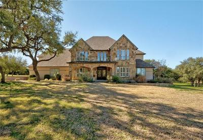 Dripping Springs TX Single Family Home For Sale: $840,000