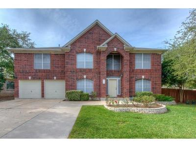 Cedar Park Single Family Home For Sale: 2701 Glenwood Trl