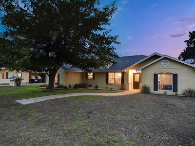 Burnet County Single Family Home Pending - Taking Backups: 400 N Chaparral