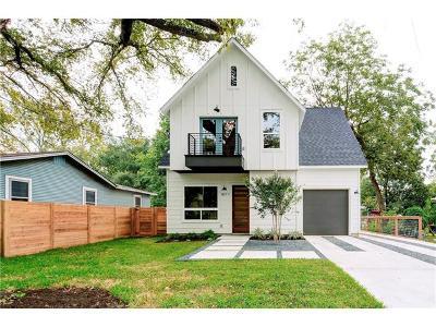 Austin Single Family Home For Sale: 1107 Estes Ave #1
