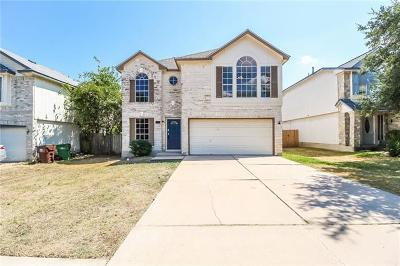 Round Rock Single Family Home For Sale: 1309 Green Terrace Dr