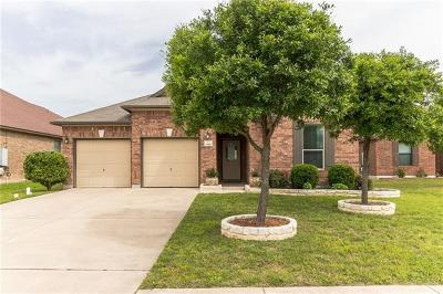 Round Rock Single Family Home For Sale: 1185 Hyde Park Dr