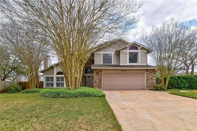 Round Rock TX Single Family Home For Sale: $299,000