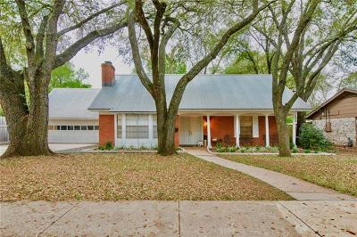 Single Family Home For Sale: 6803 Shoal Creek Blvd