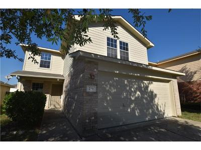 Buda Single Family Home For Sale: 289 Jack Rabbit Ln