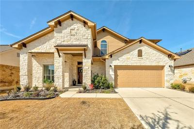 Leander Single Family Home For Sale: 609 Sawyer Trl