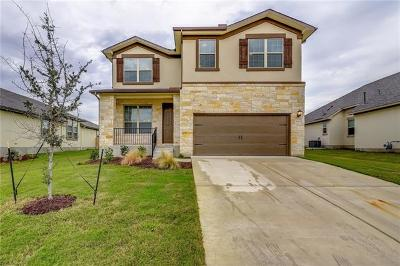 Round Rock Single Family Home For Sale: 5620 Sambuco St