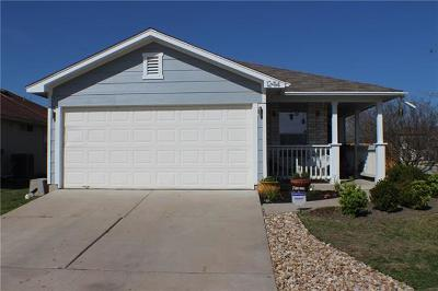 Manor Single Family Home For Sale: 12414 Jamie Dr