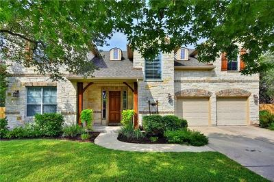 Hays County, Travis County, Williamson County Single Family Home Pending - Taking Backups: 11500 Viridian Way