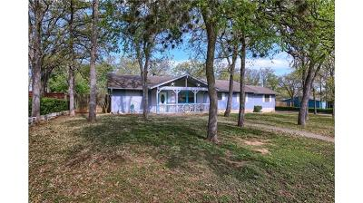 Bastrop County Single Family Home Pending - Taking Backups: 160 Live Oak Dr