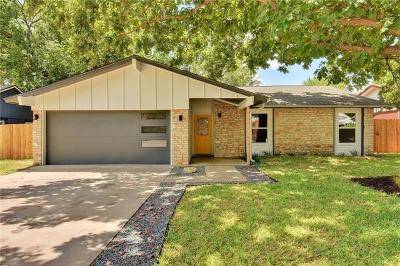 Austin Single Family Home For Sale: 5803 Whitebrook Dr