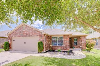 Leander Single Family Home For Sale: 2524 Ericanna Ln