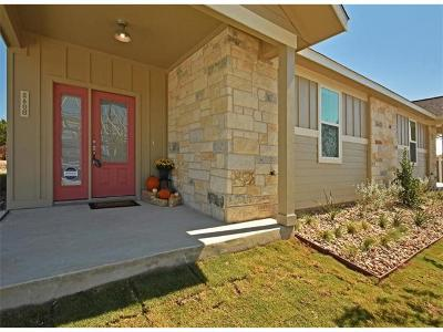 Dripping Springs Single Family Home For Sale: 360 Rose Drive #A