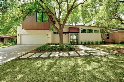 Travis County Single Family Home For Sale: 2903 Oakhaven Dr