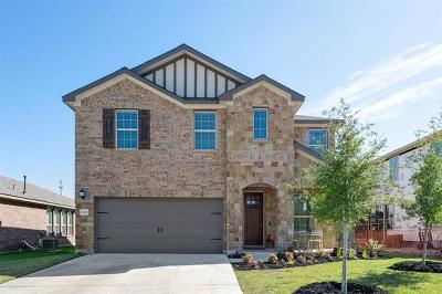 Round Rock Single Family Home For Sale: 2320 Hat Bender Loop