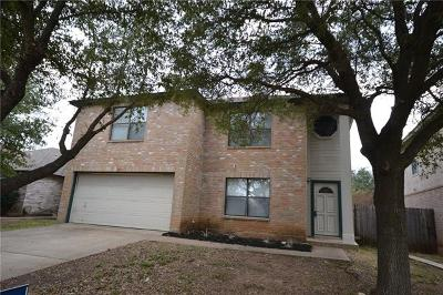 Cedar Park Single Family Home Pending - Taking Backups: 2511 Stapleford Dr