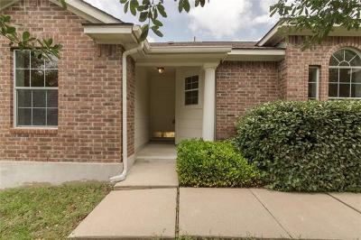 Hutto Single Family Home Pending - Taking Backups: 109 Cattail Cv