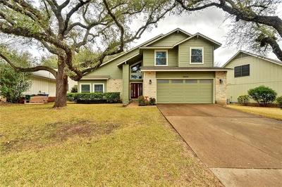 Travis County Single Family Home Pending - Taking Backups: 5804 Wagon Train Rd