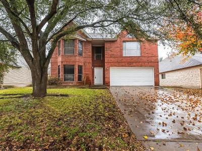 Pflugerville Single Family Home For Sale: 535 Tanner Trl