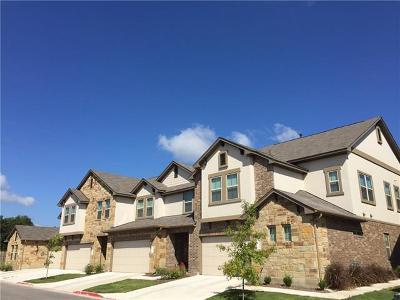 Hays County, Travis County, Williamson County Condo/Townhouse For Sale: 8806 Donatello Dr