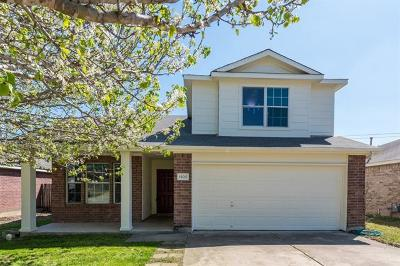 Pflugerville Single Family Home For Sale: 15017 Lantern Dr