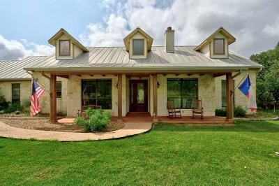 New Braunfels Single Family Home Pending - Taking Backups: 337 Lone Creek Cir