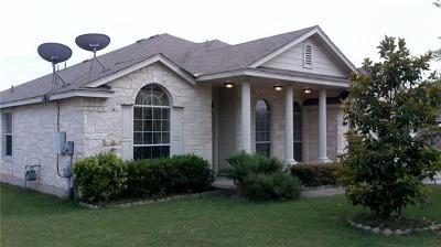 Pflugerville Single Family Home For Sale: 14708 Bruno Cir