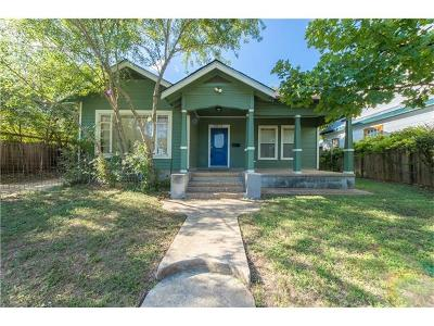 Austin Single Family Home For Sale: 1902 E 16th St
